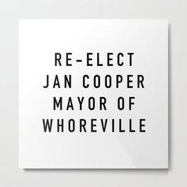 Jan Cooper Metal Print