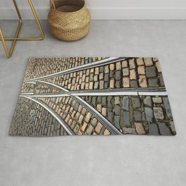 Rails and Cobbles Rug