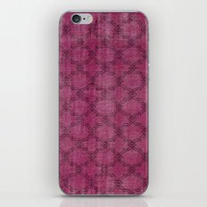 Overdyed Rug 1 Crushed Berry iPhone & iPod Skin