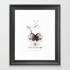 Dopamine | Collage Framed Art Print