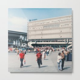 East Berlin Alexanderplatz  Metal Print