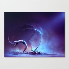 We are dancing in our chains Canvas Print