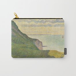 Georges Seurat Seascape at Port-en-Bessin, Normandy 1888 Painting Carry-All Pouch