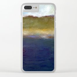 Abstract Dunes ll Clear iPhone Case