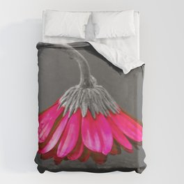 Flower | Flowers | Melancholia | Drooping Flower Duvet Cover
