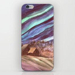 Aurora, Elk Island by Maureen Donovan iPhone Skin
