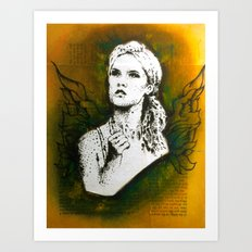 Wings Series Four (Angel)  Art Print