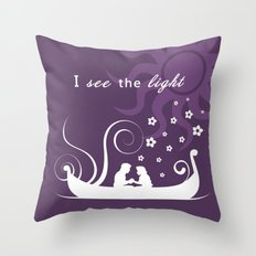 I see the light (Tangled) Throw Pillow