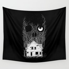 Horror house Wall Tapestry