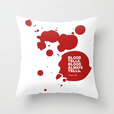 Dexter no.3 Throw Pillow