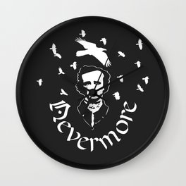 Nevermore ::: Conspiracy Wall Clock