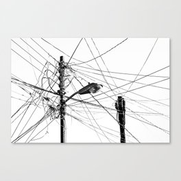 Not enough power Canvas Print