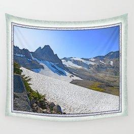 SUMMER'S LAST SNOWMELT WATER Wall Tapestry