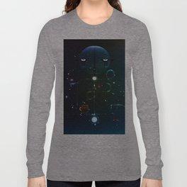 Self Portrait: Raid Boss, Coffee and Constellations Long Sleeve T-shirt