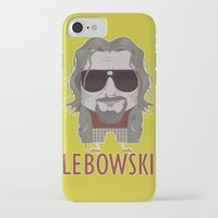 big lebowski iPhone & iPod Cases featuring The Big Lebowski by Francesco Dibattista
