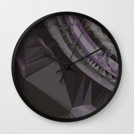 planet polygons 5 Wall Clock
