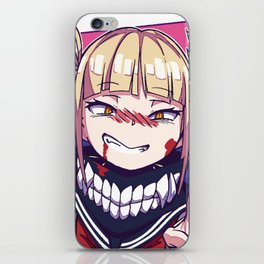 Himiko Toga Villain BHA iPhone Skin