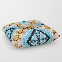 ethnic cross Floor Pillow