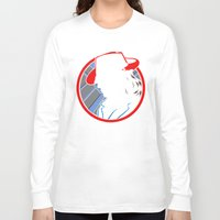 agent carter Long Sleeve T-shirts featuring Agent Carter by offbeatzombie