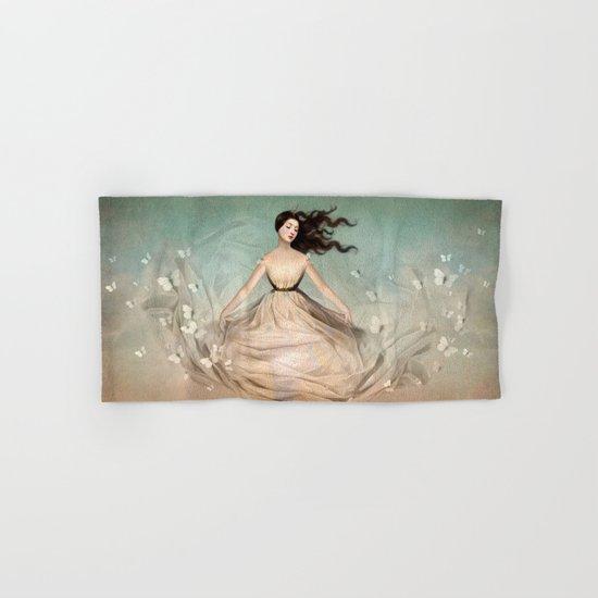Butterfly Dress Hand & Bath Towel