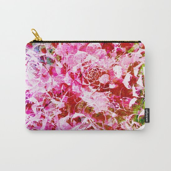 abstract succulent in pink Carry-All Pouch