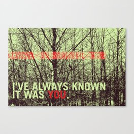 known Canvas Print