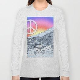 BusLife Peace & Love Long Sleeve T-shirt