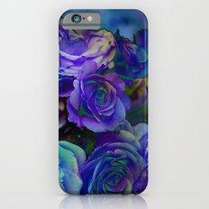 Midnight Rose Slim Case iPhone 6s