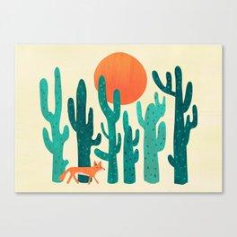 Desert fox Canvas Print