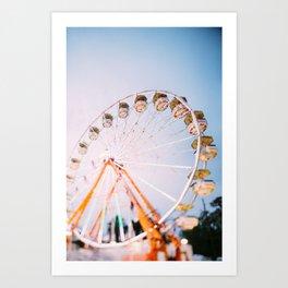 Ferris Wheel 4 Art Print