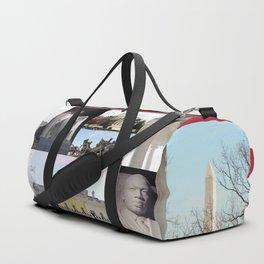 Washington DC Postcard Duffle Bag