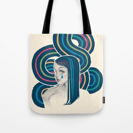 WaterWave Tote Bag