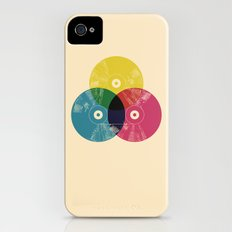 Music is the colors of life Slim Case iPhone (4, 4s)