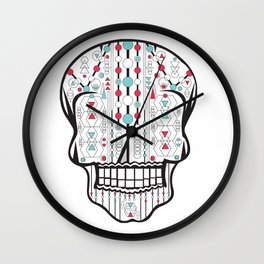 Skull #1 Wall Clock