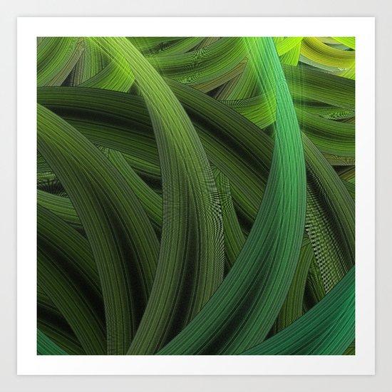 In the Tall Grass Art Print