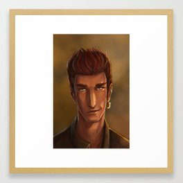 Seers Isle: Connor Framed Art Print