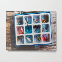 Fly Collection Metal Print