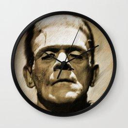 Boris Karloff as Frankenstein Wall Clock