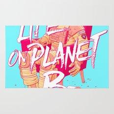 Life on Planet B Rug