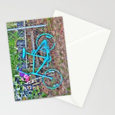 Turquoise Bicycle Stationery Cards