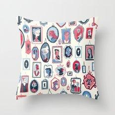 Hang ups Throw Pillow