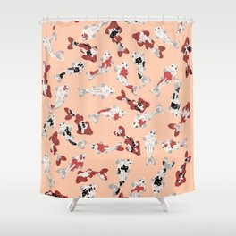 Koi pond #6 Shower Curtain
