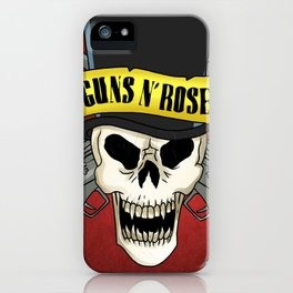 guns n roses album 2020 ansel9 iPhone Case