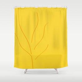 Abstract Autumn Shower Curtain