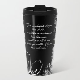Percy Bysshe Shelley - Love's Philosophy Travel Mug