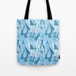 Island Goddess Leaf Aqua Tote Bag