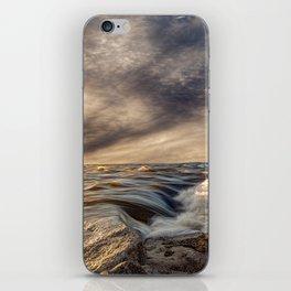 Where The River Kisses The Sea iPhone Skin