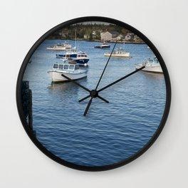 Bernard Harbor Wall Clock