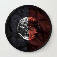 globe Wall Clocks featuring Globe by journohq