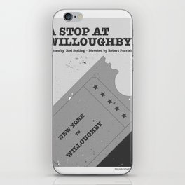 """""""The Twilight Zone"""" A Stop at Willoughby iPhone Skin"""